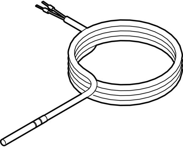 Sonde de température L.10m